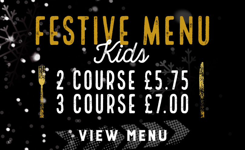 Kids Festive Menu at The Windsor