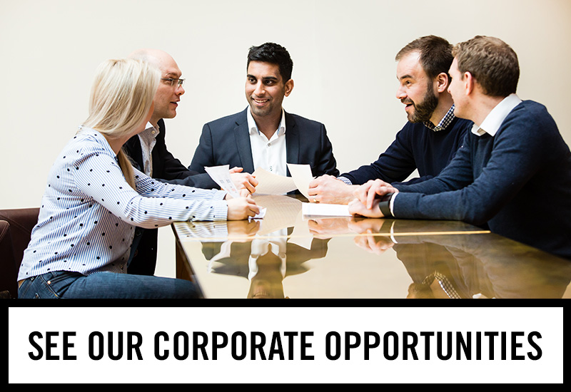 Corporate opportunities at The Windsor
